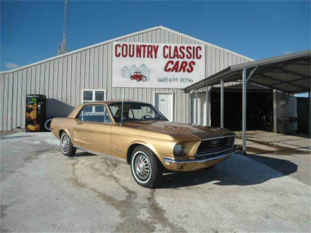 1968 Ford Mustang for Sale - CC-938660