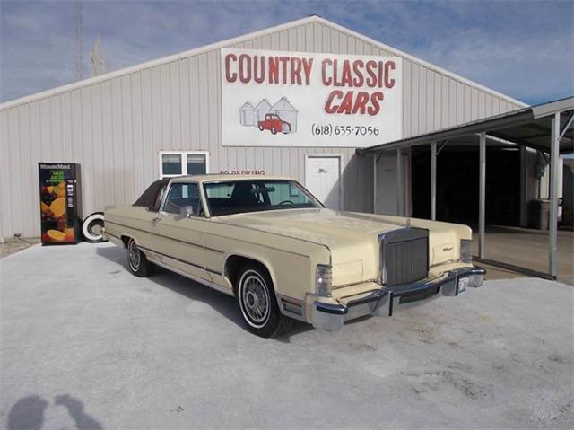 1978 Lincoln 2dr Town coupe | 938695