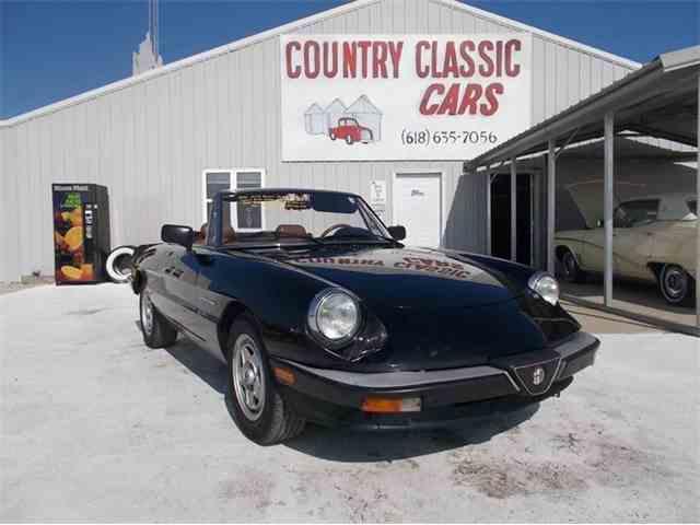 1986 Alfa Romeo 2000 Spider Veloce | 938717