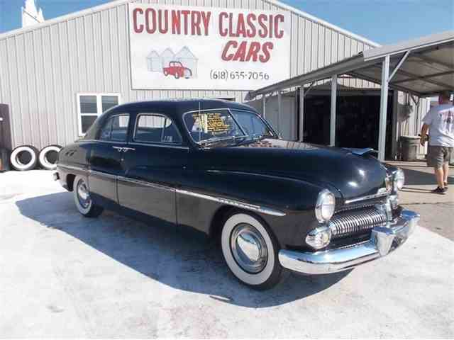 Classic mercury 4 dr sedan for sale on for 1950 mercury 4 door sedan