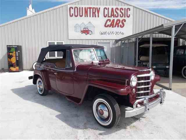 Picture of '52 Jeepster - K4DX