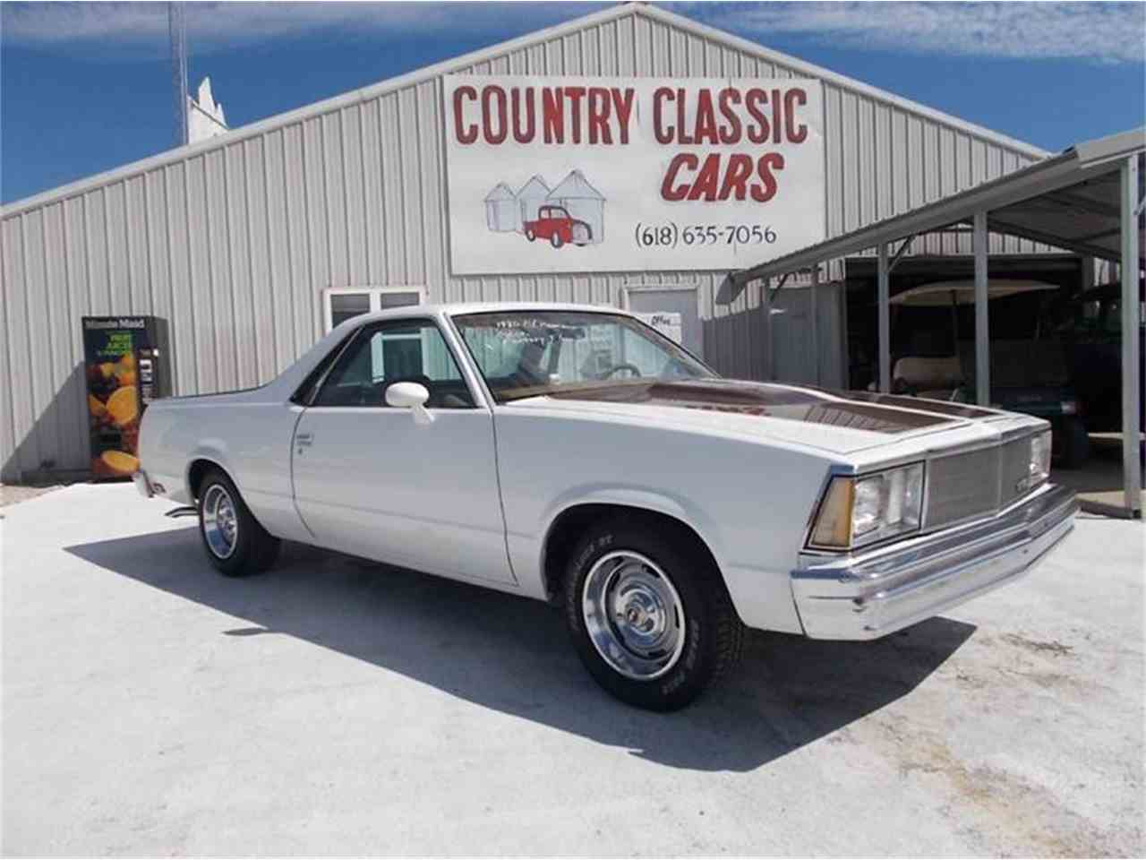 Large Picture of '80 El Camino - K4E4