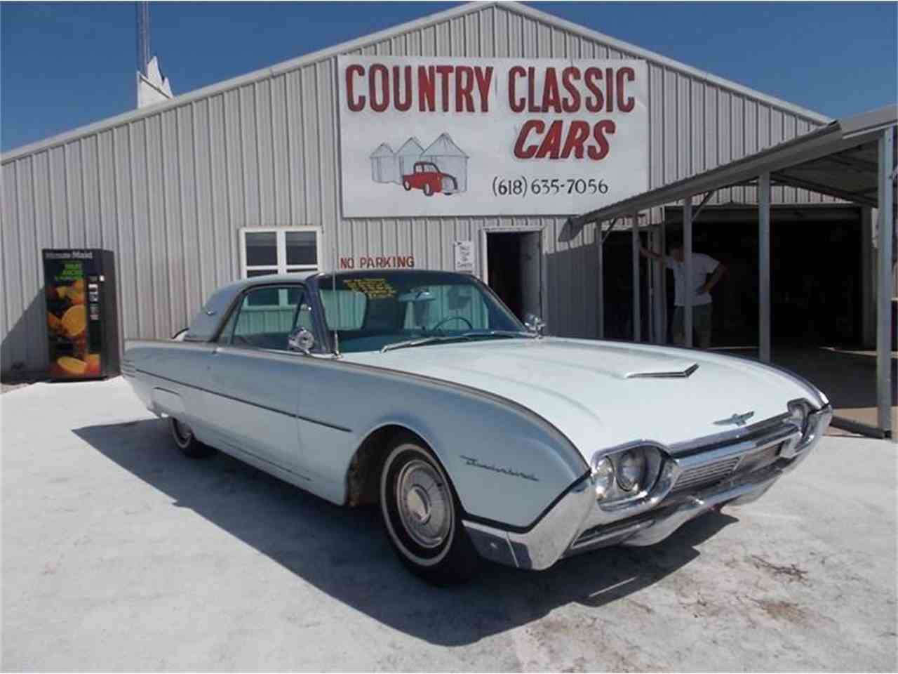 Picture Of Classic 1961 Ford Thunderbird Located In Staunton Illinois