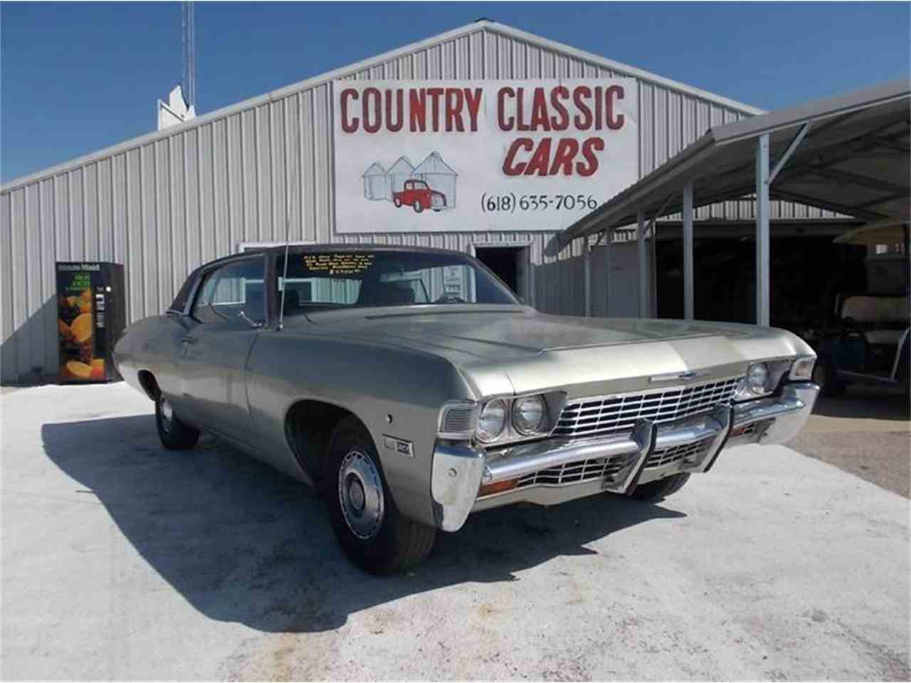 1968 chevrolet caprice for sale cc 938821. Black Bedroom Furniture Sets. Home Design Ideas