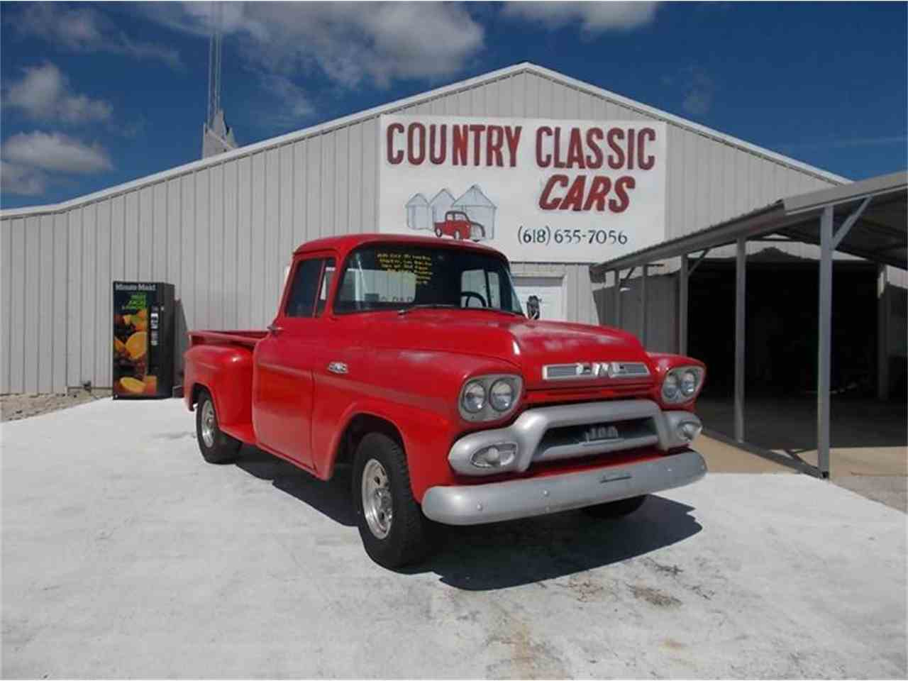 1959 gmc pickup for sale cc 938881. Black Bedroom Furniture Sets. Home Design Ideas