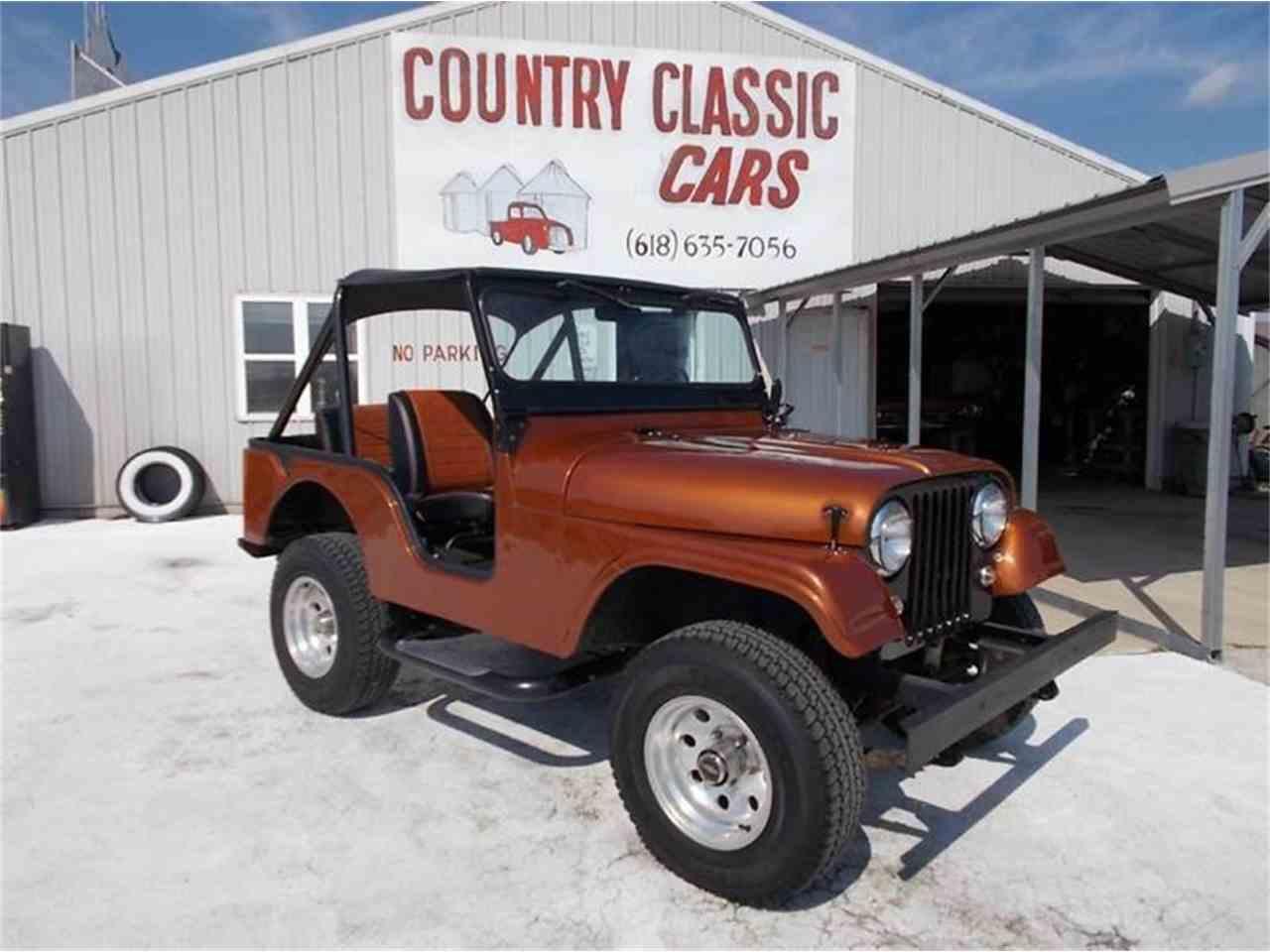 1960 willys jeep for sale cc 938895. Black Bedroom Furniture Sets. Home Design Ideas