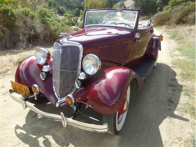 1934 Ford Cabriolet Flathead V8 | 939063