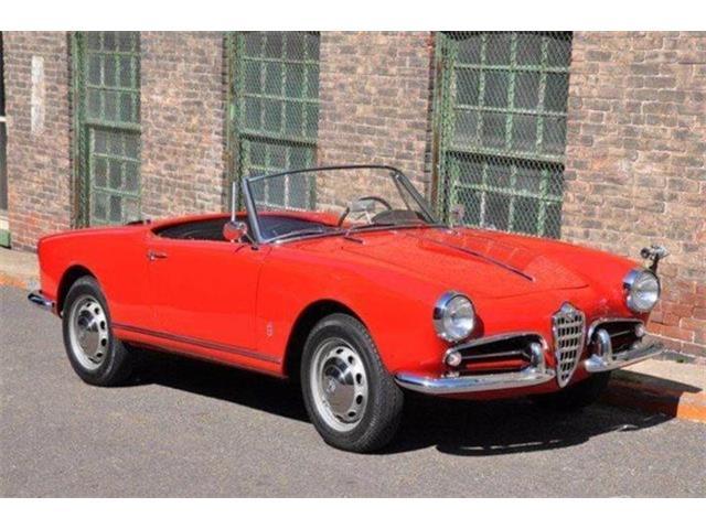 1960 Alfa Romeo Giulietta Veloce Spider   939074