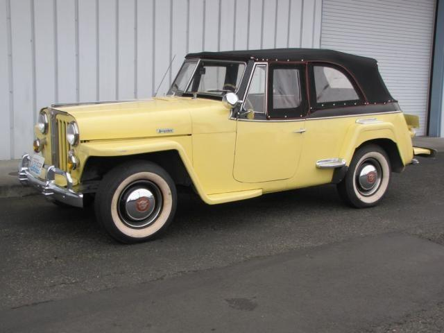 1948 WILLYS OVERLAND JEEPSTER CONVERTIBLE | 939229
