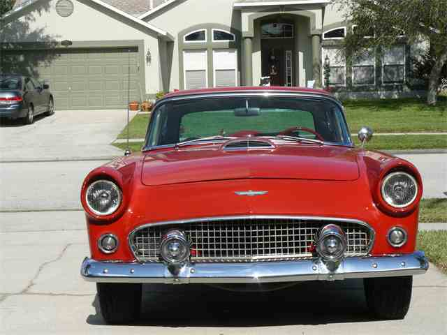 1956 ford thunderbird for sale on 75 available. Black Bedroom Furniture Sets. Home Design Ideas