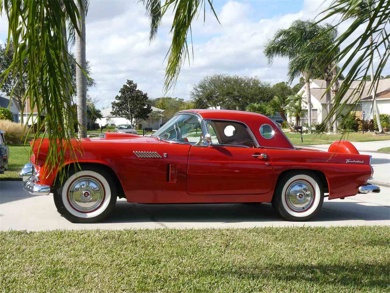 Large Picture of 1956 Ford Thunderbird located in Malabar Florida - K4T1