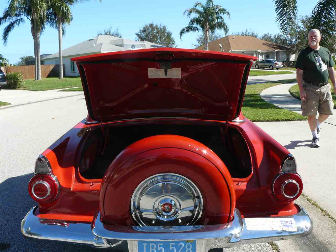 Large Picture of 1956 Thunderbird located in Malabar Florida - $25,000.00 - K4T1