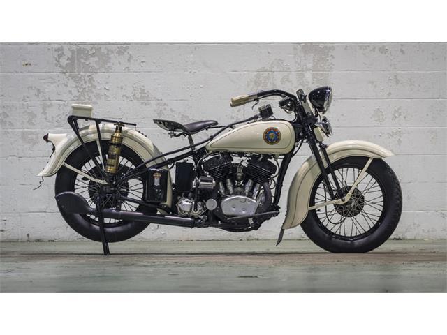 1936 Harley-Davidson VLH Flathead Police Bike | 939424