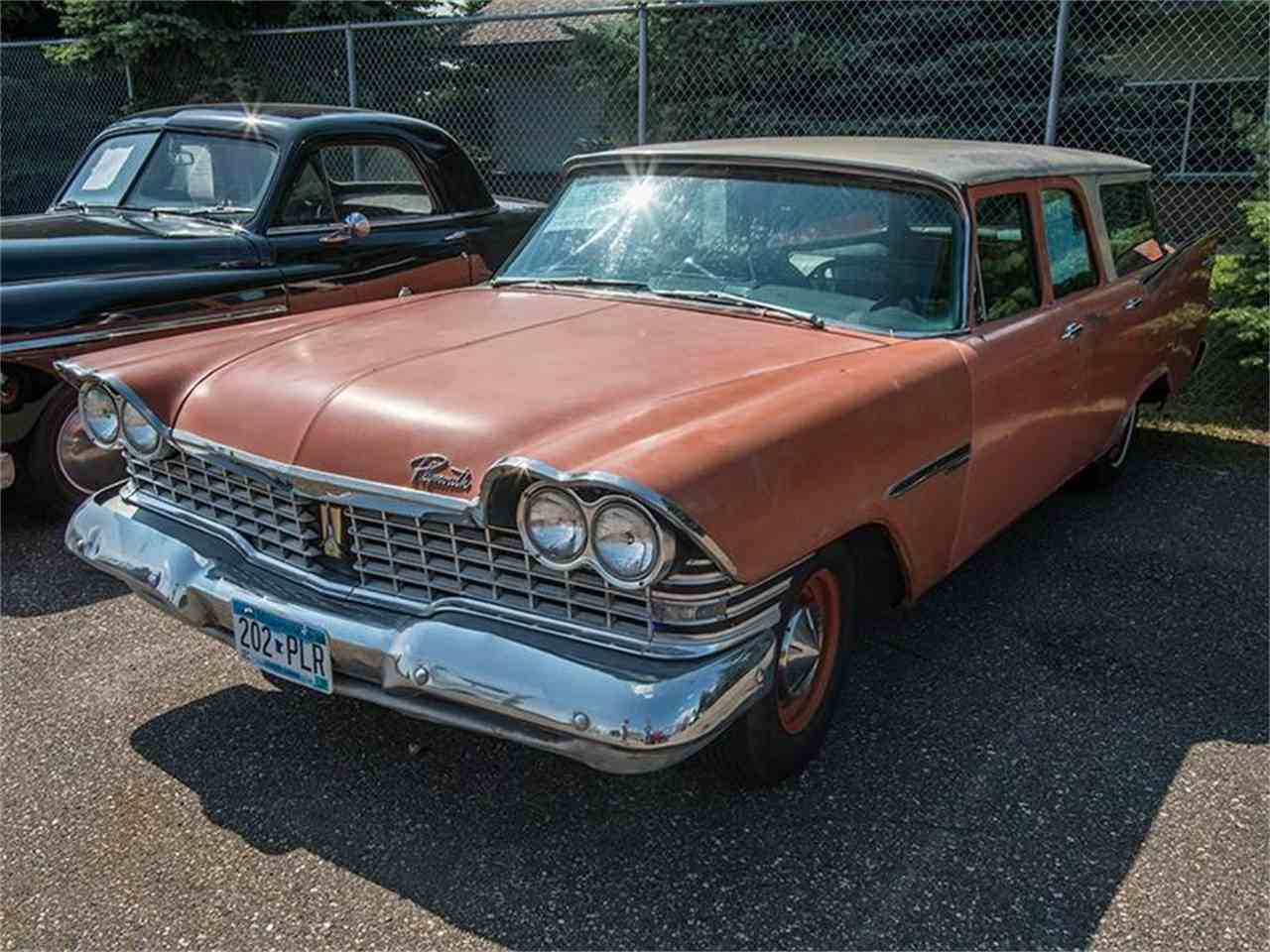 1959 plymouth suburban for sale cc 939511. Black Bedroom Furniture Sets. Home Design Ideas