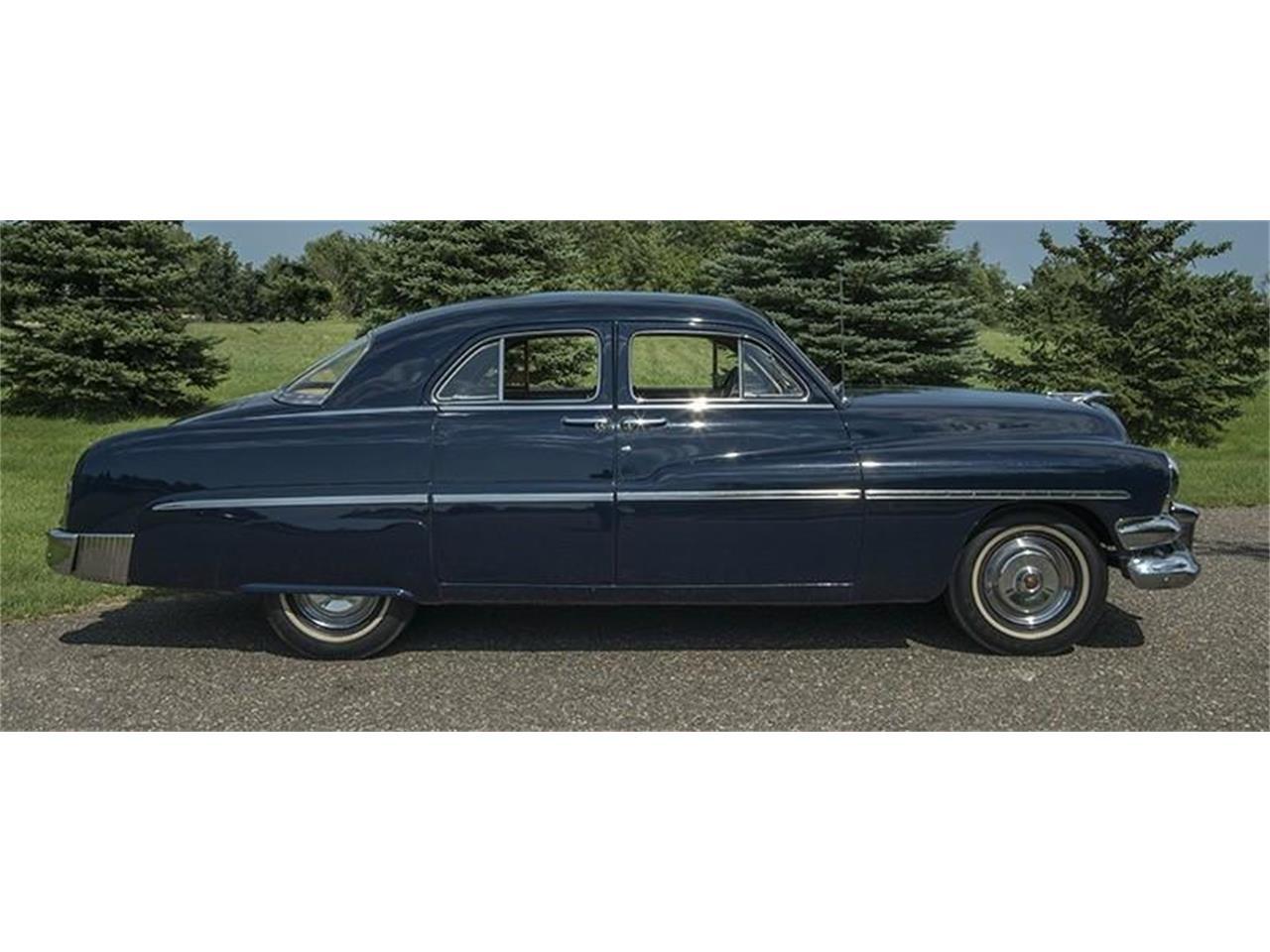 1951 mercury 4 door sport sedan for sale