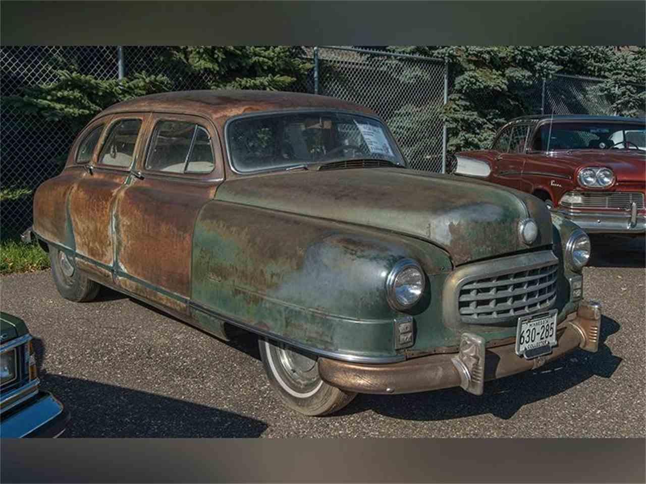 Nash Car: 1949 Nash 600 For Sale