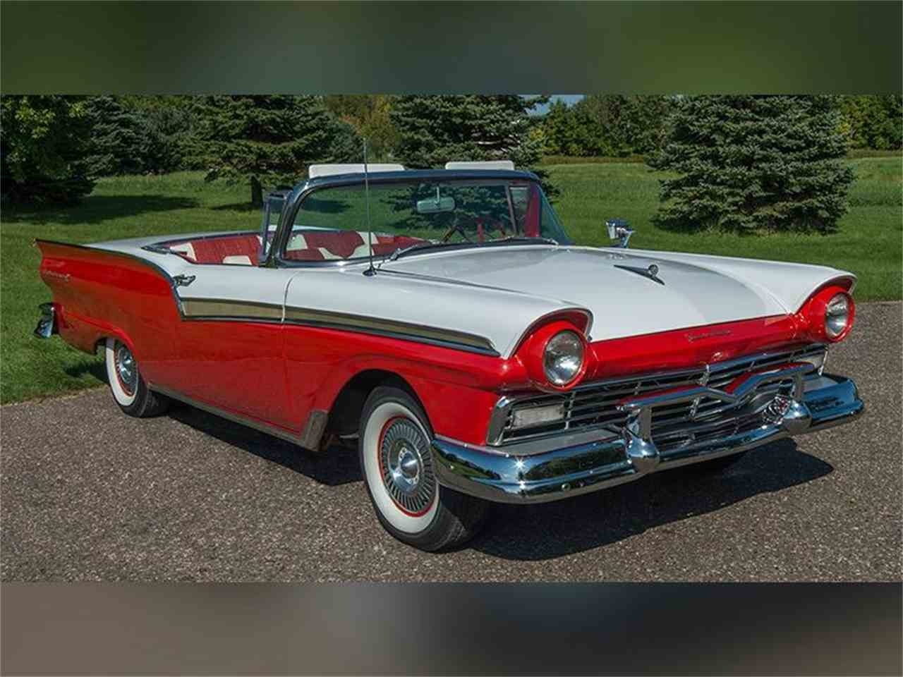 1957 ford fairlane 500 skyliner retracta for sale cc 939539. Black Bedroom Furniture Sets. Home Design Ideas