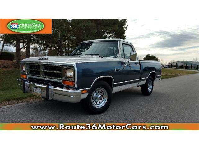 1987 Dodge D100 | 930964