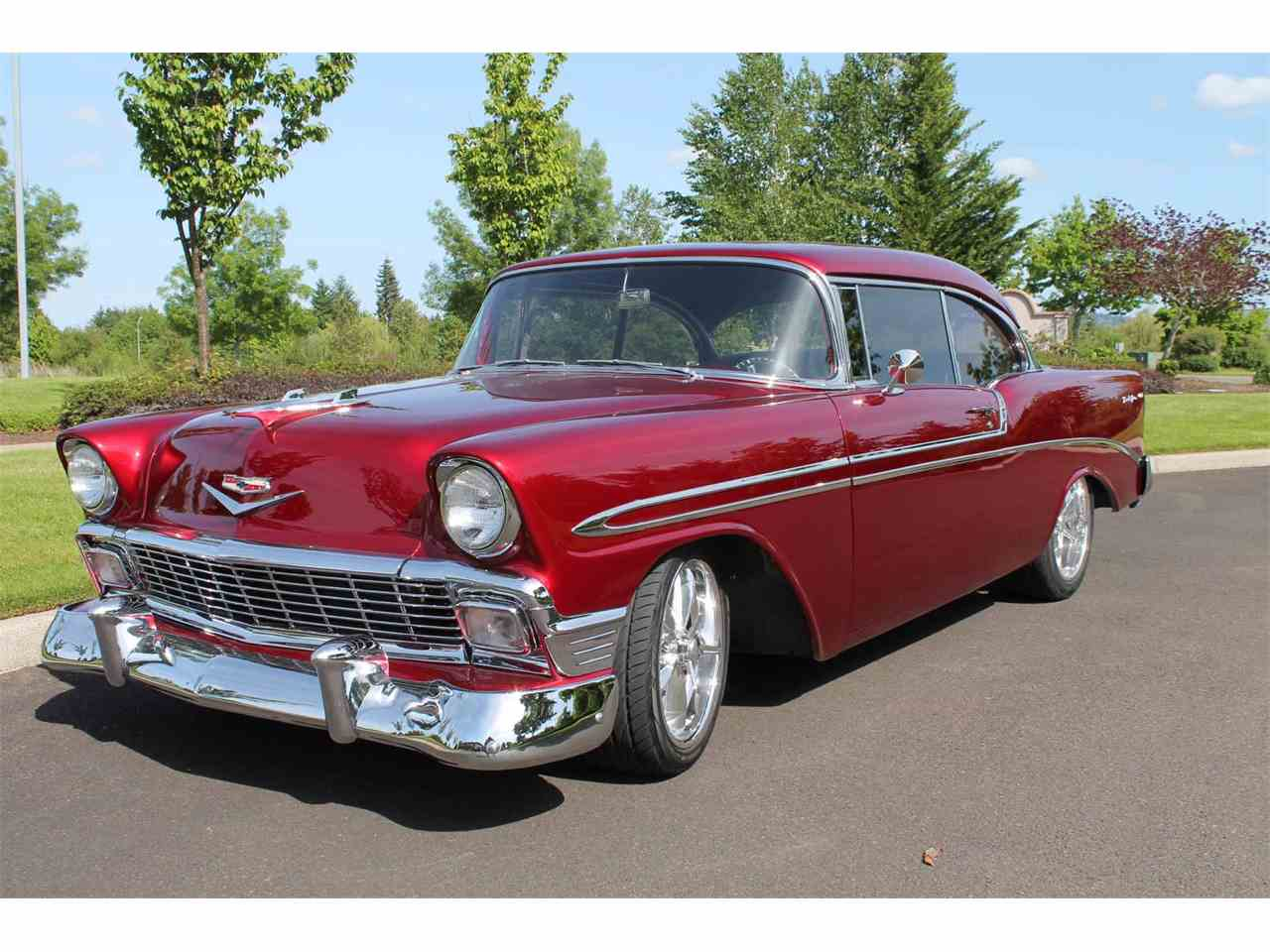 1956 chevrolet bel air for sale cc 939682. Black Bedroom Furniture Sets. Home Design Ideas