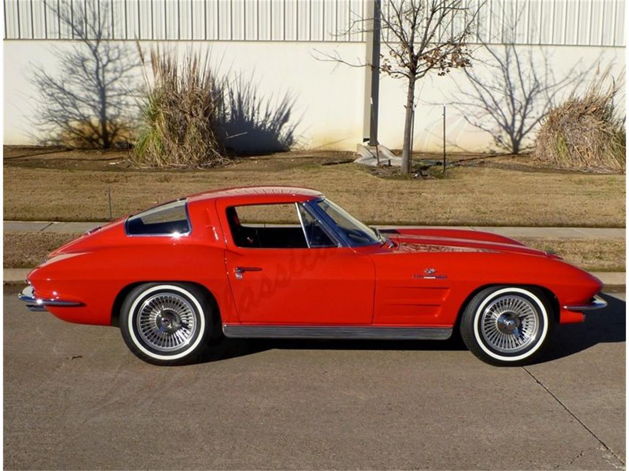 for sale 1963 chevrolet corvette split window in arlington texas. Cars Review. Best American Auto & Cars Review