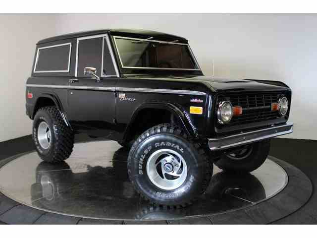 classic ford bronco for sale on 112. Black Bedroom Furniture Sets. Home Design Ideas