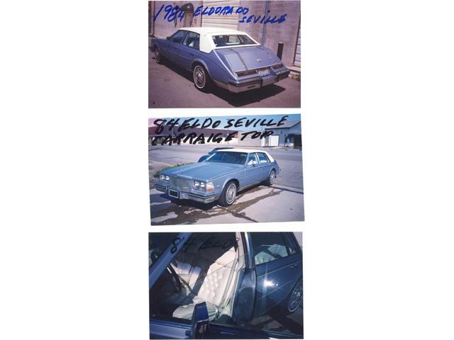 1984 Cadillac Eldorado Seville | 940102