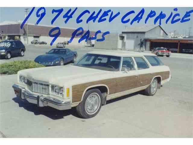 1974 Chevrolet STATION WAGON CAPRICE | 940125