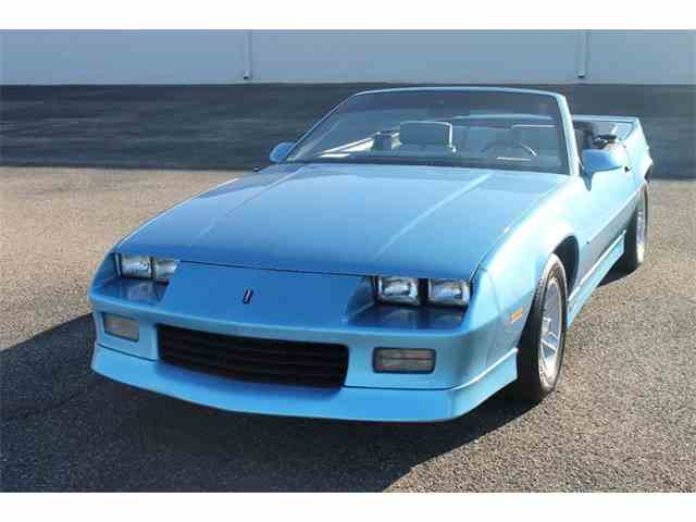 1989 Chevrolet Camaro For Sale On Classiccars Com
