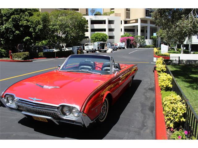 1962 Ford Thunderbird Sports Roadster