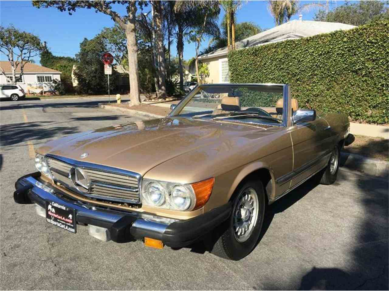 1985 mercedes benz 380sl for sale cc for Mercedes benz for sale los angeles