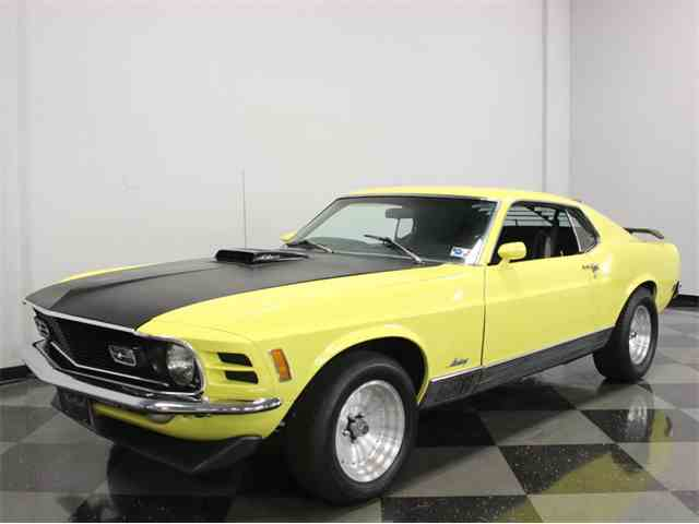 1970 Ford Mustang Mach 1 | 942193