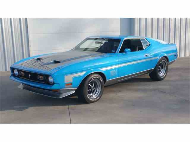 1971 Ford Mustang Mach 1 | 942242