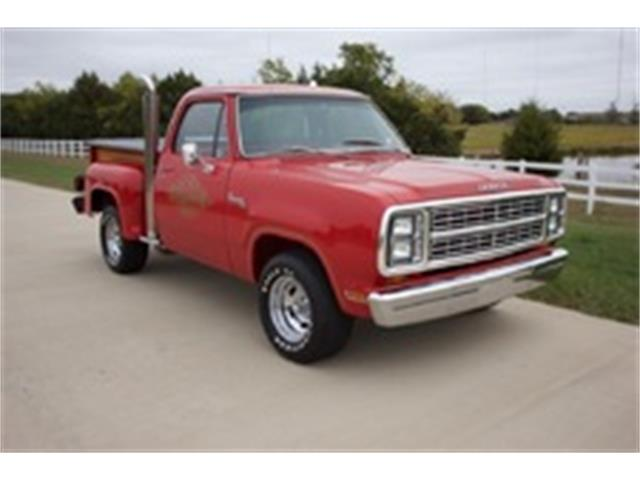 "1979 Dodge ""Lil Red"" 