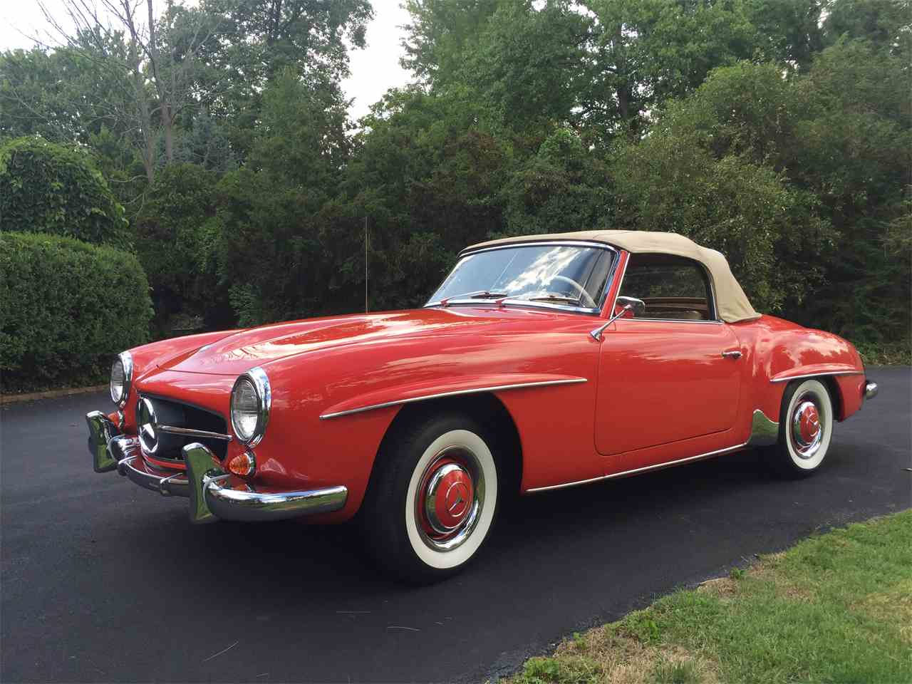 1963 mercedes benz 190sl for sale cc for Mercedes benz 190 sl for sale