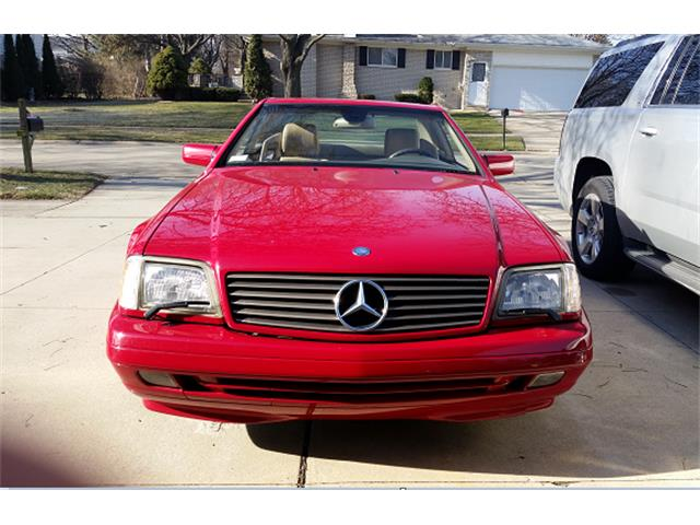 1997 Mercedes-Benz SL500 | 942771