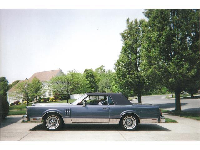 1983 LINCOLN MARK VI PUCCI | 942916