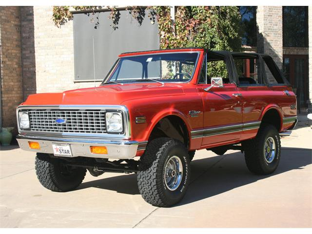 1972 Chevrolet K5 Custom Blazer