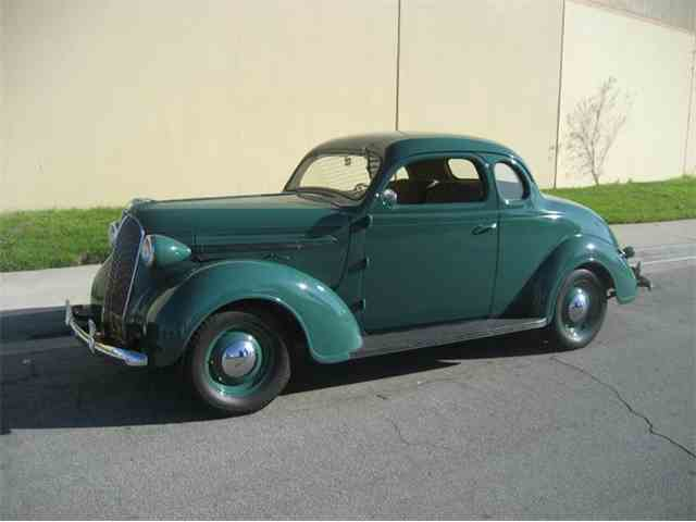 1937 Plymouth Business Man's Coupe