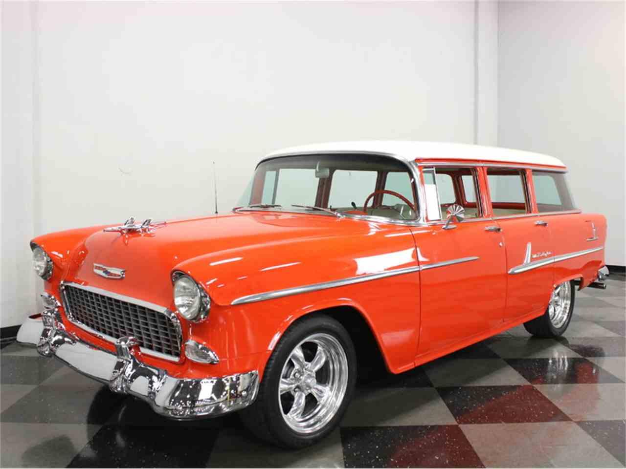 1955 chevrolet bel air wagon for sale cc 943371. Black Bedroom Furniture Sets. Home Design Ideas