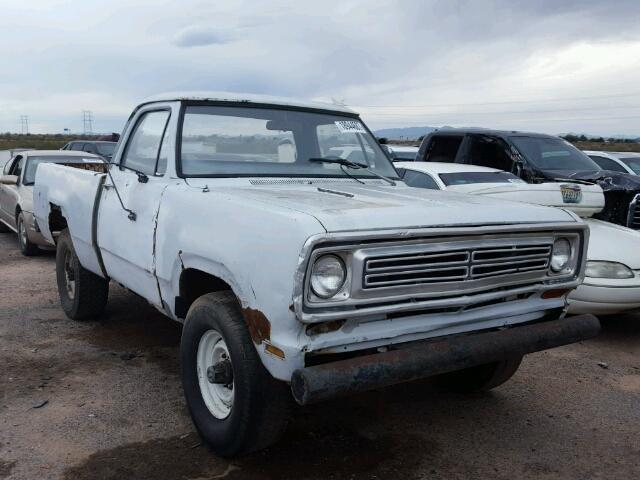 1973 DODGE ALL OTHER | 943490