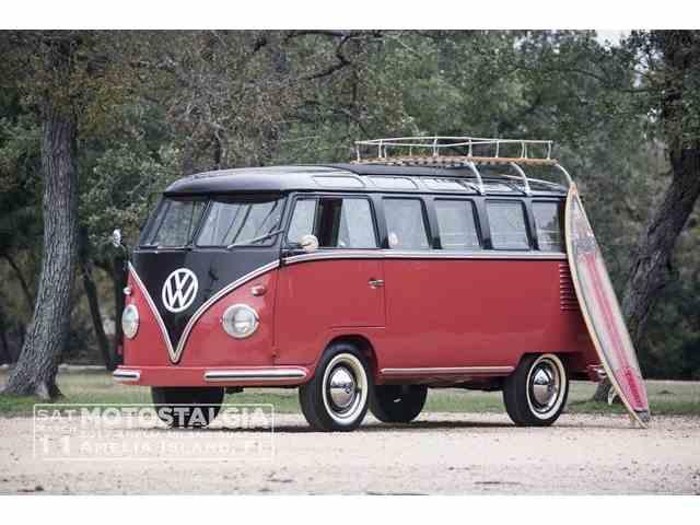 1958 Volkswagen Samba Bus 23 Window | 940366