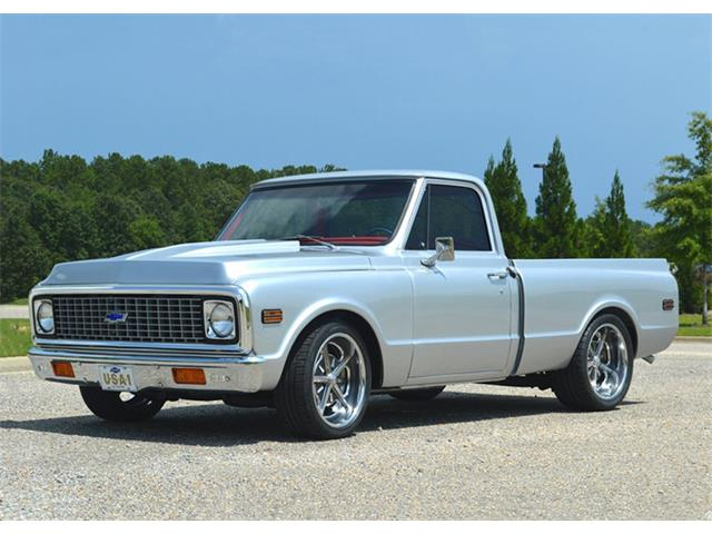 1972 Chevrolet C10 Custom 1/2 Ton Short Wide | 943724