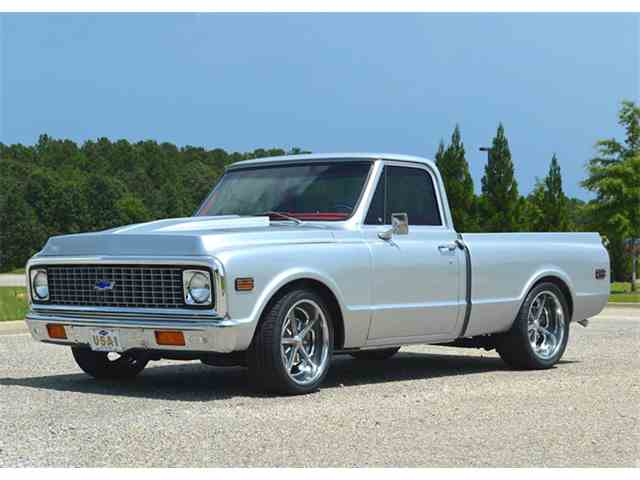 1972 Chevrolet C10 Custom 1/2 Ton | 943724