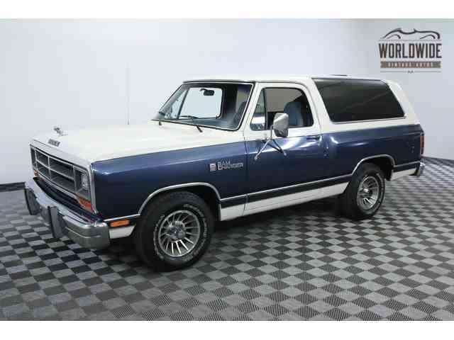 1987 Dodge Ramcharger   943809