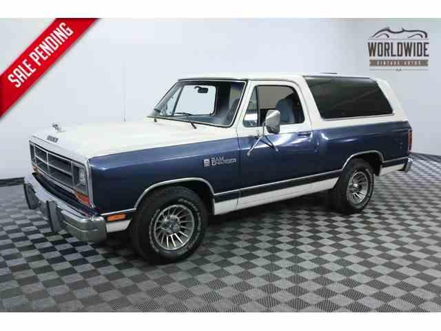 1987 Dodge Ramcharger | 943809