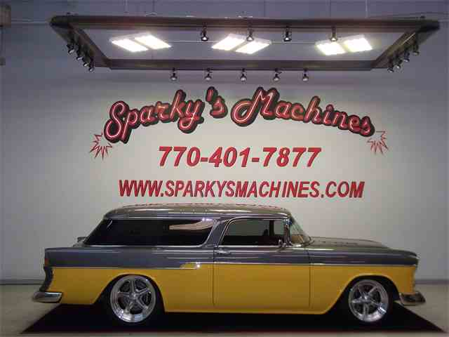 Picture of 1955 Chevrolet Nomad Offered by Sparky's Machines - K5LR