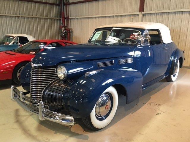 1940 Cadillac Series 62 Convertible 2 Door Coupe   943919