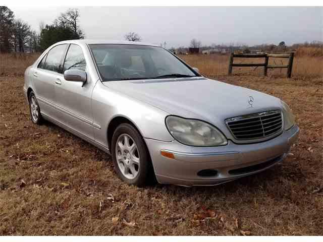 2000 Mercedes-Benz S500   943931