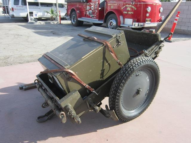 1942 OTHER SWISS ARMY AMMO WAGON | 944142