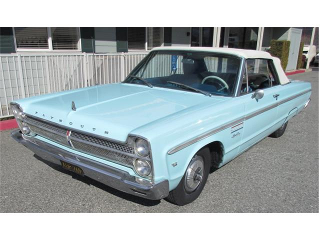 1965 PLYMOUTH SPORT FURY CVTBLE | 944155